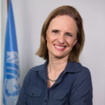 Karin Manente (WFP Representative and Country Director - Mozambique of UN World Food Programme)