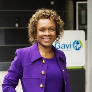 Marie-Ange Saraka-Yao (Managing Director, Resource Mobilization and Private Sector Partnerships of GAVI Alliance)