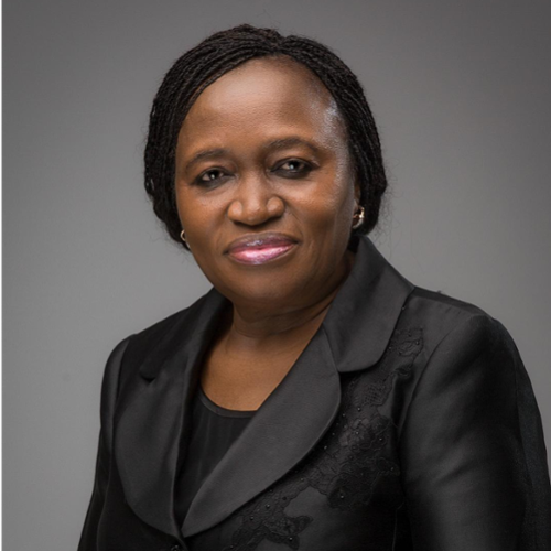 Dr. Sarah Alade (Special Adviser to the President on Finance and Economy)